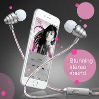 Wholesale HUAST Hastell KDK Metal Headphones New Bass Phone Universal In ear Headphones Silica Gel Headphones Price