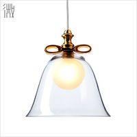 Wholesale Micro art BELL lamp Moooi Nordic creative restaurant lamp clothing store lovely glass bell pendant lamp