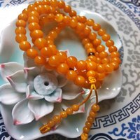beeswax oil - Pure natural beeswax old chicken oil yellow particles style Baltic Pearl necklace bracelet genuine imported