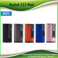 battery calculations - Authentic Sigelei Fuchai TC Box Mod W Celsius based TCR calculation Dual battery genuine DHL Free