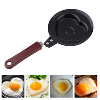 Wholesale Mini Non Stick Stainless Steel Heart Shape Egg Pan Pancake Pot Fry Frying Pan
