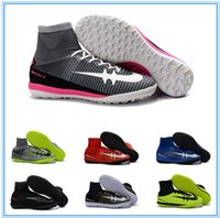 Wholesale MercurialX Proximo II IC TF Soccer Shoes The Assassin Generation Huailong MD ACC Indoor waterproofing flat football shoes Football boots