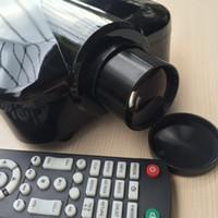 projecteur livraison gratuite DHL HD-320 1800 lumens support VGA (ordinateur, ordinateur portable, ordinateur portable), Vidéo (tv box, DVD), S-vidéo, HDMI, USB