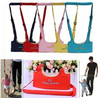 Wholesale 50Pcs New Kid Keeper Baby Safe Walking Learning Assistant Belt Kids Toddler Adjustable Safety Strap Wing Harness Carries
