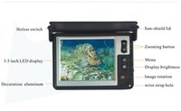 Wholesale 600TVL Color LCD Monitor Underwater Ice Video Fishing Camera System Visual Fish Finder LQ T with m Cable
