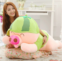 large stuffed animals - 55cm the new plush pillow doll cute plush cushion pig doll large plush stuffed animal birthday gift toys