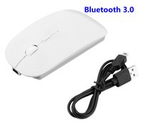 Wholesale Portable Rechargeable Bluetooth Wireless Mouse for Laptop Tablet PC Optical Mouse DPI