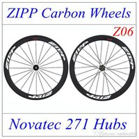 Wholesale 2016 Newest Zipp full carbon bike wheelset C mm complete cycling carbon fiber wheels fast shipping with quick release