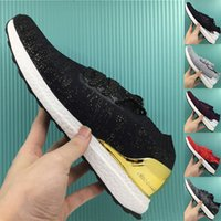 Wholesale With Original Box Men Ultra Boost Uncaged Unisex UltraBoost Women Boots City Sock Shoes Gold Silver Colors Size Freeshipping