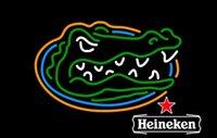 Wholesale University of Florida Gators Hene ken Glasss Neon Beer Signs Light New