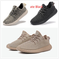 Wholesale with original box New Boost Pirate Black Breathable Running Shoes Kanye West Moonrock Sports Sneakers Turtle dove Casual Shoes