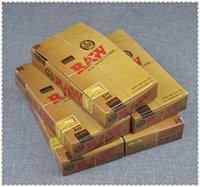 Wholesale 24 booklets box cigarette rolling paper machine smoking papers hemp mm mm leaves booklet Natural Paper Size