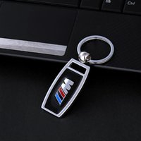 Wholesale Top Fashion Promotion Car key chain for bmw M3 M5 F10 F20 F30 X6 Stainless steel Keyring Key Ring Key Gift car styling