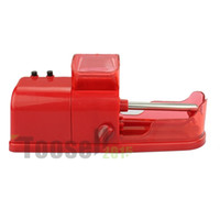 electric cigarette rolling machine - Factory Price Automatic Injector Electric Tobacco Cigarette Rolling Roller Injector Maker Machine Plastic red