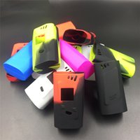 alien case - Electronic silicone cover for alien w box mod colors e cigs box mod Colorful Sleeve Protective Cover Skin Silicone case