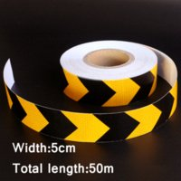 adhesive strips for cars - 0mx5cm Motorcycle decoration Reflective Strips Glue Stickers For Car Styling Automobiles Arrow Safety Warning Adhesive Tape Cheap sticke
