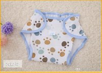 Wholesale Hot Selling NEWBaby Reusable cotton Diapers Children Cloth Diaper Reusable Nappies Training Pants Diaper Cover Washable