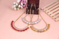atmosphere layers - Hot Sale High Quality Fashion Atmosphere Multi layer Square Rhinestone Necklace