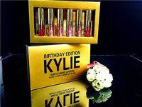 Wholesale Kylie Matte Lipstick Set Mini Lip Kit Golden Kylie Jenner Lipkit Limited Edition Birthday CONFIRMED Matte Lipstick high quality