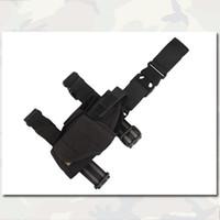 Wholesale Tornado Universal Tactical Thigh Holster For All Pistol Leg Pouch Holder Left Hand Right Hand Black D EM6207