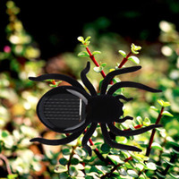 Wholesale Creative Solar Powered Mini Running Spider for Children Toys Present Hot Selling