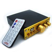 amplifier music video - New W Digital Power Amplifier Video MP3 Music Sound HIFI Stereo Speaker System with Remote Control For Mobile Phone CD VCD DVD