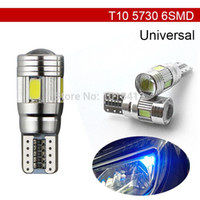 Wholesale Car Auto LED T10 W5W Canbus SMD LED Light Bulb No error led parking Fog light Auto No Error univera car light