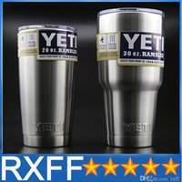 best beer - Yeti oz oz oz oz Rambler Stainless Tumbler Bilayer Insulation Cups Car Beer Mug Large Capacity Sports Mugs best quality by DHL