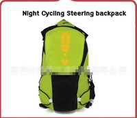 backpacks control - Hot sales Night Cycling Steering backpack Intelligent remote control point lights backpack Outdoor cycling sports bag