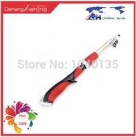 Wholesale Ultra short m segments ice fishing rod fishing pole spinning rod telescopic fishing rod Carbon fishing rod