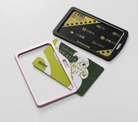 bank card protector - new type metal card holder protector your card bank card protector case