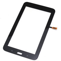 Wholesale For Samsung Galaxy Tab Lite T110 Touch Screen Digitizer Glass Panel White And Black Tablet Repair Parts Replacement