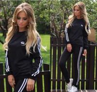 Wholesale Winter Autumn Fashion Women Tracksuits Womens Casual Sport Tops Sweatshirt Pants Sport Suit Sweat Suits Tracksuit
