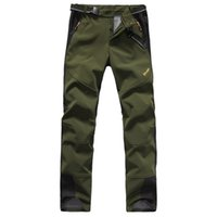 Wholesale Spring thin section Mens Monolayer Sports Pants Army Green Casual trousers WaterProof Climbing Outdoor Pants Scratch resistant