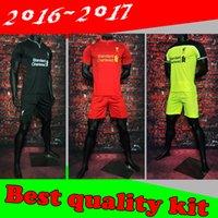 Wholesale Wholesalers Liverpool kit Jerseys Football Shirt GERRARD BENTEKE LALLANA LUCAS COUTINHO FIRMINO STURRIDGE Away Home Jersey