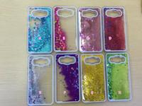 Silicone ace fashion - Liquid Quicksand Star Glitter Hard Plastic Case For Galaxy S7 Edge Core Prime G360 J1 ACE J2 J5 J7 A510 A710 A310 S6 Plus Bling Fashion Skin