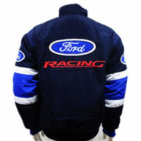 auto racing games - NEW Brand winter F1 racing suit car motorcycle jacket karting drift game men auto moto motorbike Cotton padded clothing for ford