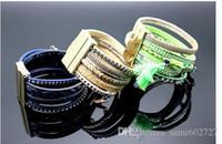 Wholesale new style Rhinestone bracelet several weave alloy bracelets Euro America style Tennis