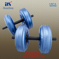 Wholesale New Model Water Filled Dumbbell with RoHS approval