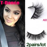 Wholesale A002 pair Real Siberian D Mink Full Strip False Eyelash Long Individual Eyelashes Mink Lashes Extension