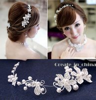 Wholesale Crystal Pearl Tiara Bridal Hair Accessories For Wedding Quinceanera Tiaras And Crowns Pageant Rhinestone Crown full crystal C10020