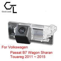 auto vw touareg - For Volkswagen VW Passat B7 Wagon Sharan Touareg Wireless Car Auto Reverse CCD HD Rear View Camera Parking Assistance