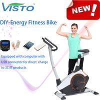 Wholesale Self generating Fitness Bike Self Generation Fitness Bike Magnetic Bike elliptical bike recumbent bike