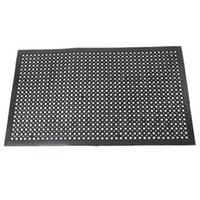 Wholesale Black Anti Fatigue Floor Mat quot quot Indoor Commercial Industrial Heavy Duty Use