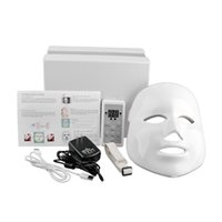 Wholesale Colorful LED Beauty Mask Korean Photodynamic LED Facial Mask Home Use Beauty Instrument Anti acne Skin Rejuvenation FaceMaster