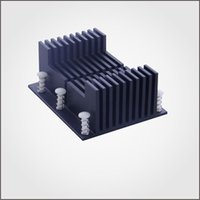 Wholesale 10set carton Aluminum Heatsink Anodizing in Black Used for Cooling Raspberry Pi New HeatSink Fans