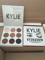 Wholesale Dropshipping new arrival Kylie Cosmetics Jenner Kyshadow eye shadow Kit Eyeshadow Palette Bronze Cosmetic Colors