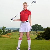Wholesale Golf Culottes Skirt Female Breathable Shorts Golf Skirt Culotte Pleated Safety Shorts Summer Clothing Woman Golf Culottes Skirt