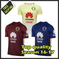 Wholesale Top Thai Quality Jersey club merica Centennial america club yellow blue commemorate Camiseta de futbol shirt