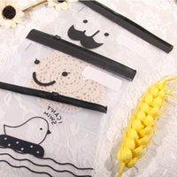 bag moustache - Transparent Moustache Smile Office Cosmetic Make Up Pencil Bag Pouch Case Cute